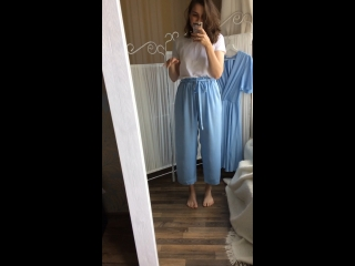 Голубые брюки 💙