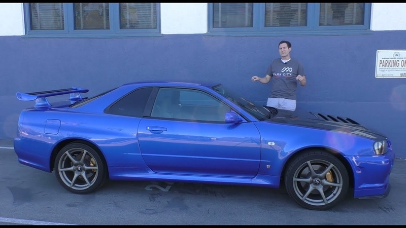 Here's a Tour of a USA-Legal R34 Nissan Skyline GT-R