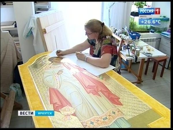 В Иркутске в Соборе Богоявления освятили аналог чудотворной иконы Казанской Божьей Матери