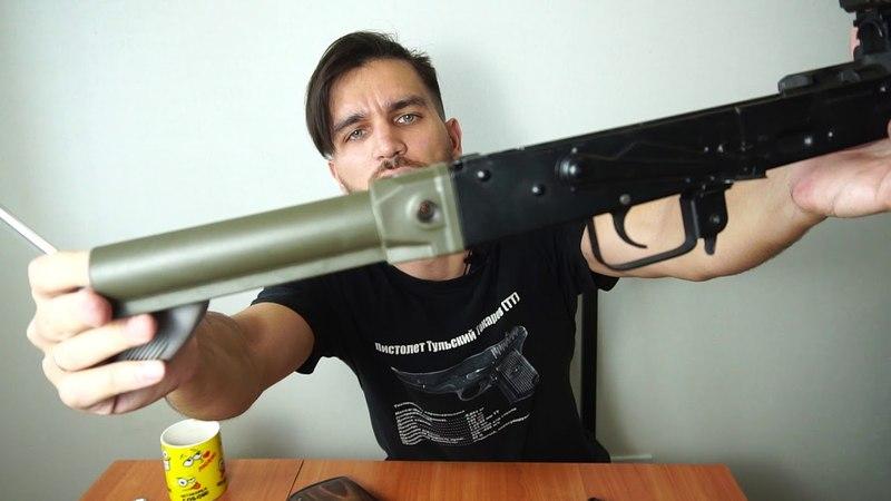 Приклад с щекой, рукоять и трубы! Ништяки от DLG Tactical для калаша!