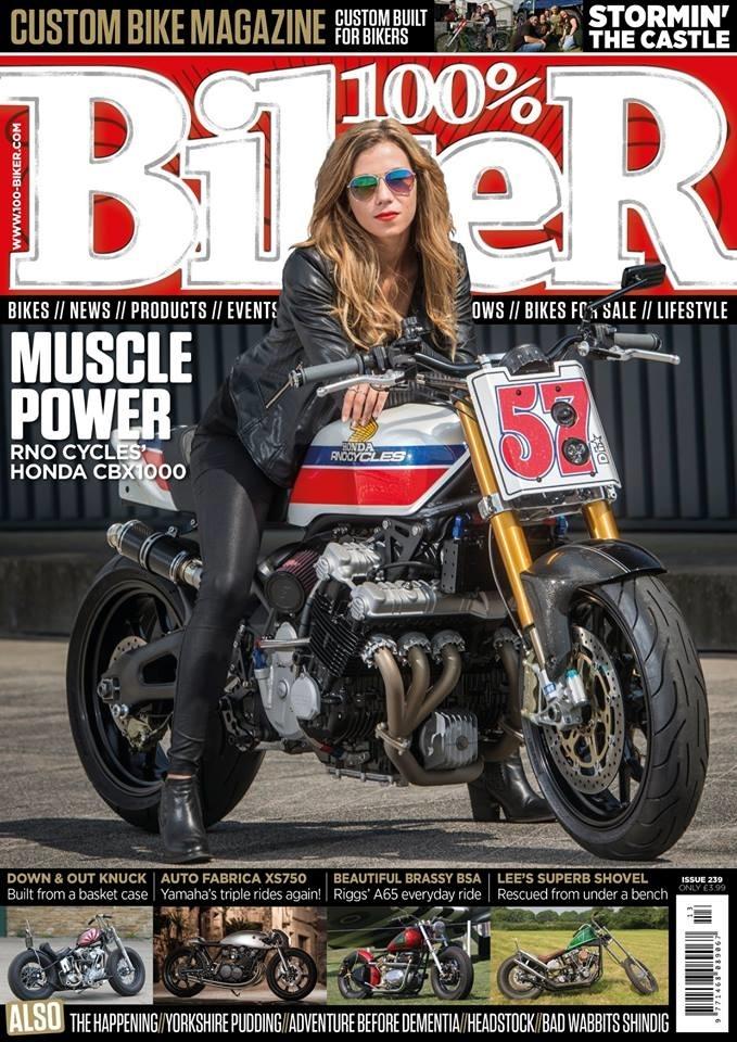 Rno Cycles: кастом Honda CBX1000 Turbo