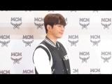 VIDEO 180817 INFINITE L Myungsoo - MCM Store Renewal Opening Event - -