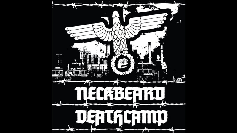 Neckbeard Deathcamp White Nationalism is for Basement Dwelling Losers 2018 USA Black Metal