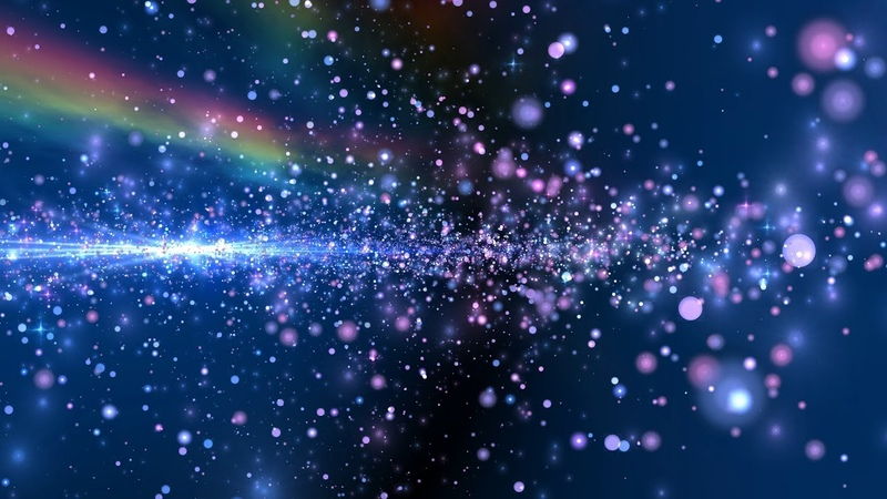 ✔ 4K 1000Min. () RAINBOW GALAXY 🌈 Relaxing Colorful Moving Background AAVFX VJLOOP Backdrop