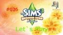 Давай играть в Симс 3 Времена года 036 День рождение2