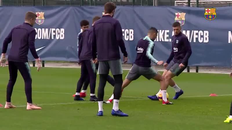 Тренировка Барселона | 15.11.2018