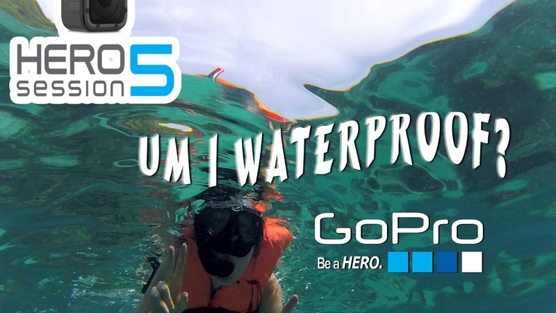 GoPro Hero5 Session underwater review 2017 || Worth Buying