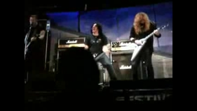 YouTube- Metallica Slayer Megadeth Anthrax - Sonisphere Sofia 2010 Big Four - Diamond Head - Am I Evil