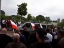Der Volkslehrer spricht bei Demo vom 10 05 2018 in Bielefeld fuer Solidaritaet mit Ursula Haverbeck Die Rechte