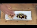 2.2. Tartar de remolacha asada con mango, anchoas y pan con tomate