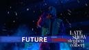Выступление Future с треком «Crushed Up» на шоу Стивена Кольбера
