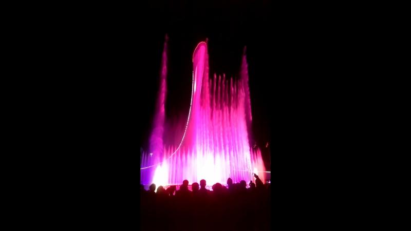 Олимпийский парк - фонтаны