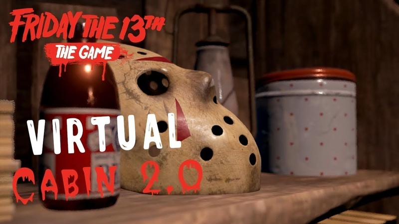 Тиффани с Кенни?WTF!?Friday the 13th the game(Virtual cabin v 2.0)16