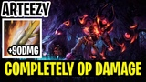 Completely OP Damage - Arteezy Clinkz 7.17 - Dota 2