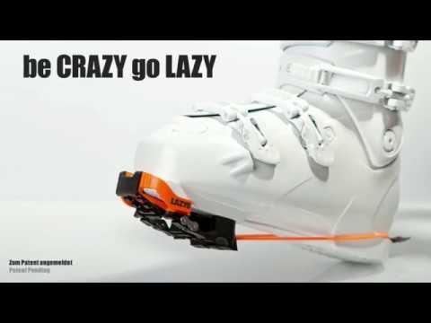 LAZYS macht Ihre Skischuhe bequem, schnell bewegen