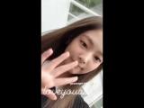 Jennie ig story - 29/06/18