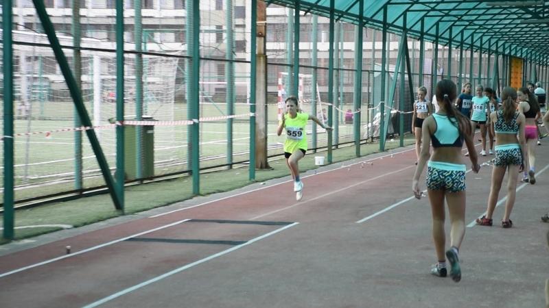 3 попытка в прыжках в длину у девушек 2005 2006 г р команды Победа