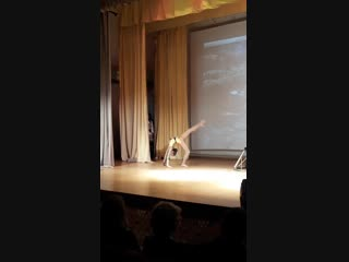 Бурмистрова Анфиса, акробатический этюд-