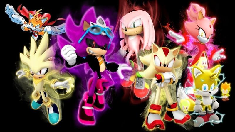 Формы Соника ЧАСТЬ 4 Sonic Forms 4 Special