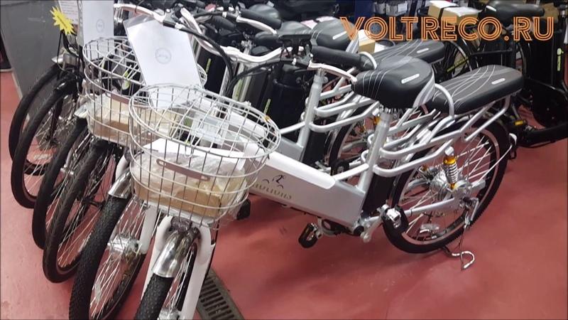 Электровелосипед E-motions Dacha Дача 350W Li-ion Обзор Voltreco.ru