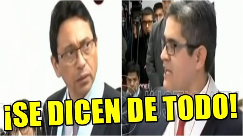 Duro Enfrentamiento Tuvieron Fiscal Domingo Pérez Y Abogado De Yoshiyama