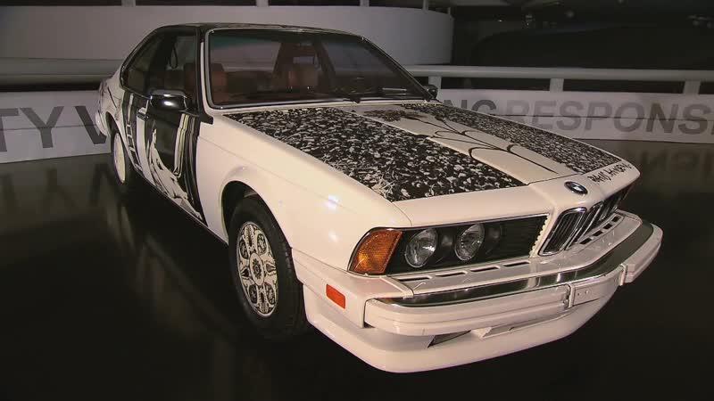 BMW 635 CSi (E24) - Art Car by Robert Rauschenberg 1986