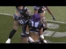 Delaney Hall great interception