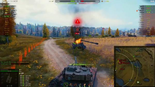 World of Tanks - 22 000 урона по засвету супер-куст на карте малиновка / PlayGround.ru