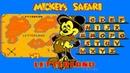 Mickeys Safari in Letterland walktrough NES/Dendy 60fps