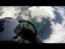 Вид из кабины пилотов истребителя