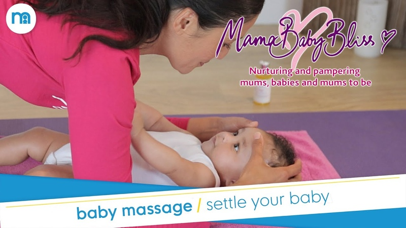 Baby Massage Techniques To Help Settle Your Baby Mothercare