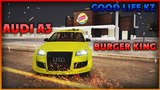 AUDI A3 BURGER KING GOOD LIFE KZ MTA
