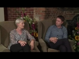 Джейн Уэймарк и Дэниел Кейси в лайф-интервью для Acorn tv
