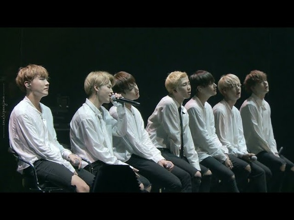 BTS 방탄소년단 Love Is Not Over Live On Stage Epilogue Japan Edition 2016