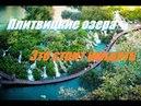 Это стоит увидеть Плитвицкие озера национального парка Хорватия