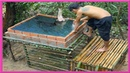 Primitive Survival Life: Building Bamboo Crocodile Pond