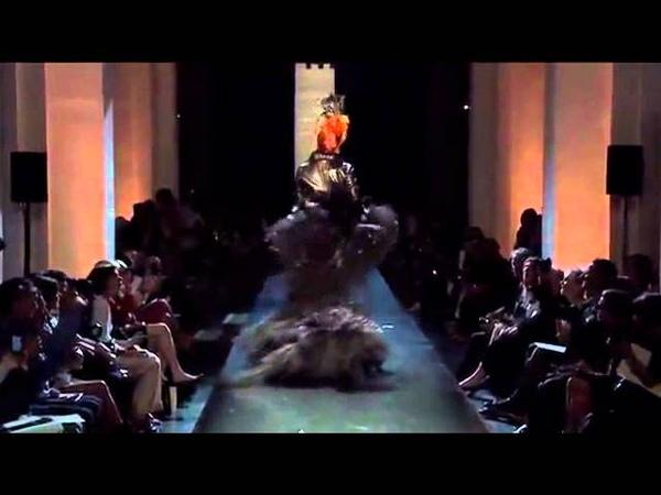 Jean Paul Gaultier Haute Couture FallWinter 20112012 Full Fashion Show Part 2