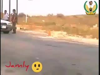 السيارات الاردنية اثناء خروجها من الأراضي السورية بعد افتتاح معبر جابر الحدودي - - هنا سور