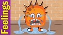 Feelings and Emotions Song for Kids | Kindergarten, Preschool ESL | Fun Kids English