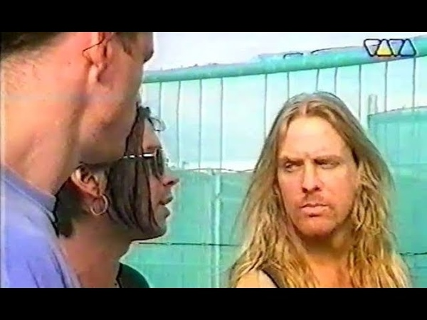 Slayer - Castle Donington 26.08.1995 Monsters Of Rock (TV) Live Interview