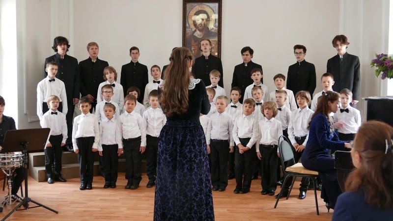 Ефрем Подгайц Москва, Хоровая школа мальчиков и юношей Богоявление.