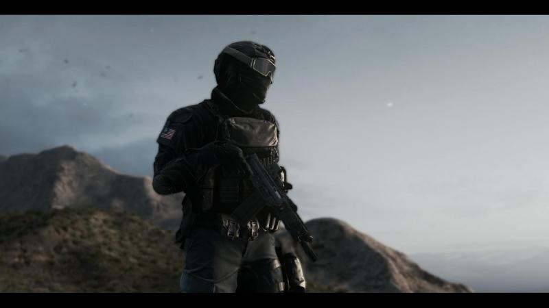 [60 fps] Военный воин.