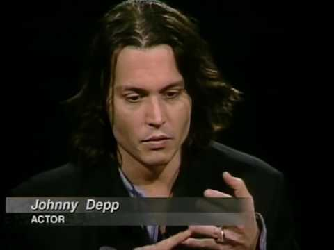Johnny Depp Job İnterview On Charlie Rose 1999 Jon Bon Jovi 1997