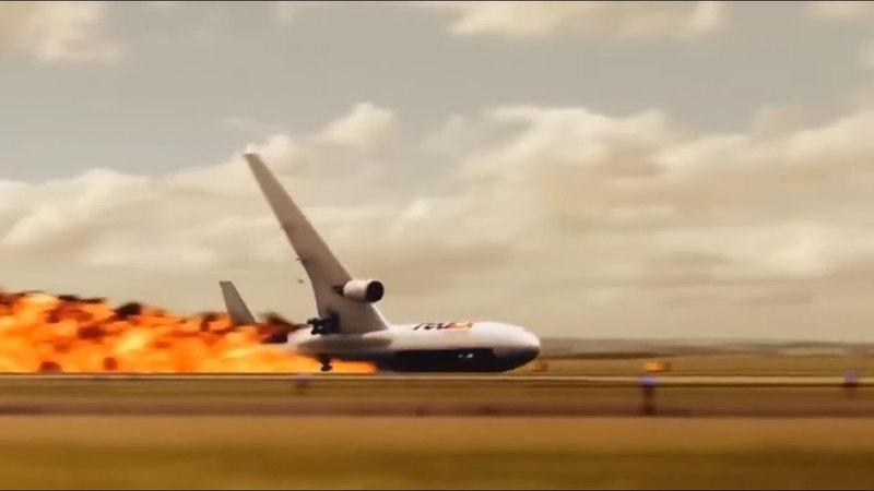 Rolled Over - FedEx Express Flight 14, FedEx Express Flight 80 - P3D