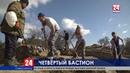 Редкие находки В Севастополе идут раскопки четвёртого бастиона времен Крымской войны