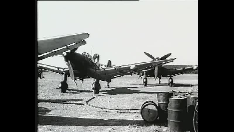 Немецкие летчики над Карельским перешейком в 1944 г.