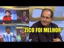 Muricy: Zico foi melhor que Maradona, Ronaldinho, Platini e Zidane