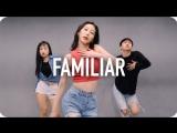 1Million dance studio Familiar - Liam Payne & J Balvin / Tina Boo Choreography