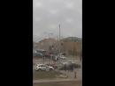 Горит машина Астана Сатпаева Майлина 25 Апреля 2018