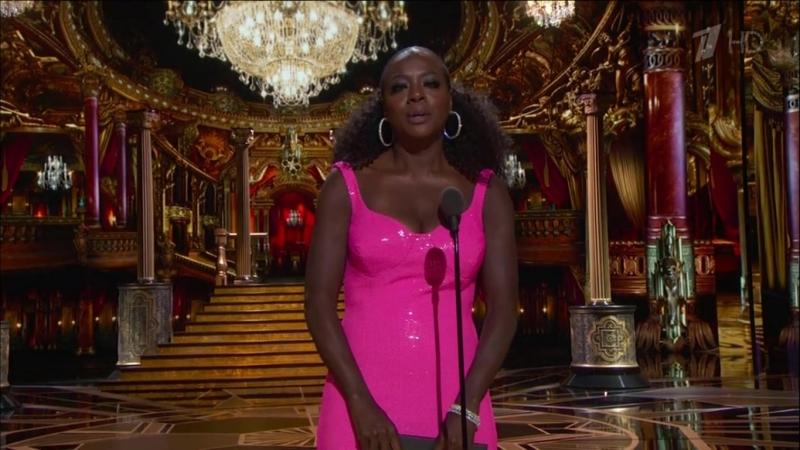 Виола Дэвис на премии Оскар